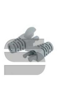 Защитный колпачок NIKOMAX для коннекторов RJ45, под кабели диаметром 5,5мм, с защитой защелки, прозрачный, уп-ка 100шт.