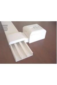 ASMP16 Переходник для коробки SMP/SM/SD к коробу 75/3 х20мм