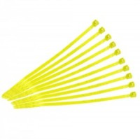 Кабельные стяжки 2,5х100 yellow (100 шт)