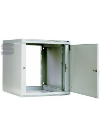Шкаф телекоммуникационный настенный разборный 9U (600х650), съемные стенки, дверь металл купить с доставкой в Ростове-на-Дону - Смарт