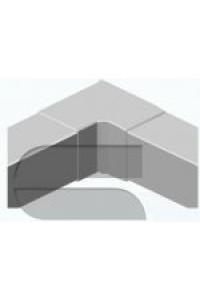 Внутренний изменяемый угол для короба 40х40