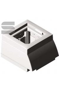 Накладной адаптер под модули 45х45 для короба 12х7