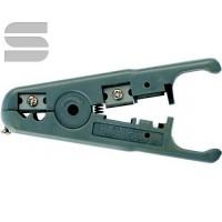 Инструмент NIKOMAX универсальный, для зачистки и обрезки плоских и круглых кабелей (до 9мм) с жилами