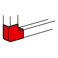 Плоский угол 90° - для кабель-каналов Metra 100x50