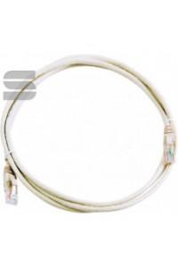 Коммутационный шнур NETLAN U/UTP 4 пары, Кат.5е (Класс D), 100МГц, 2хRJ45/8P8C, T568B, заливной, многожильный, BC (чистая медь), LSZH нг(B)-HF, серый, 10м, уп-ка 5шт.