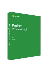 Программное обеспечение Microsoft® Project Professional 2019 32-bit/x64 English 1 License DVD Emerging Market