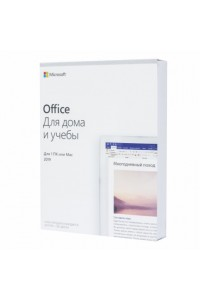 Программное обеспечение Microsoft® Office Home and Student 2019 English 1 License Central / Eastern Europe Only Medialess P6