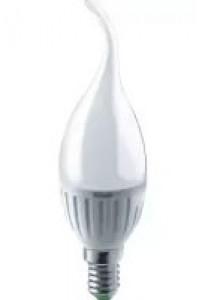 Лампа светодиодная 61 131 OLL-FC37-6-230-6.5K-E14-FR ОНЛАЙТ