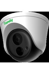"""IP камера купольная 2Mп,  1/2.8"""" Starlight CMOS, WDR 120dB, 1920x1080@30к/с, фиксированный объектив 6мм, F1.6, S+265/H.265/H.264/M-JPEG, 1 диод белой подстветки до 5м, ИК подстветки нет, IP66, ROI, антитуман, приватное маскирование, аудио 1/1,  тревожный вход/выход 2/1, аналитические функции (Распознавание лиц, Захват лица, Интеллектуальный мониторинг); питание 12В (5,5Вт), POE (6,5Вт)"""