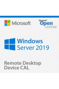 Программное обеспечение Microsoft® Win Rmt Dsktp Svcs CAL 2019 English Microsoft License Pack 5 Licenses User CAL User CAL