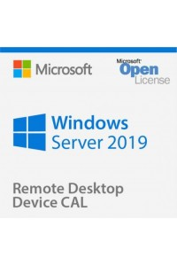 Программное обеспечение Microsoft® Win Rmt Dsktp Svcs CAL 2019 English Microsoft License Pack 1 License Device CAL Device CAL