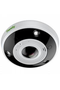"""IP камера купольная FishEye 12Mп,  1/1,7"""" Starlight CMOS, WDR, 1920x1080@30к/с, моторизированный объектив 1,98мм, F2,8, S+265/H.265/H.264/M-JPEG, 3 диода белой подстветки, ИК подстветка до 20м, 3шт, IP66, ROI, антитуман, приватное маскирование, аудио 1/2, тревожный вход/выход 2/1, аналитические функции; ANR; MicroSD, до 128 ГБ; питание 12В (9Вт), POE (10Вт)"""