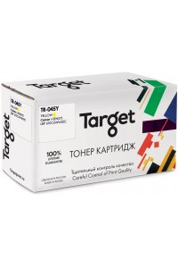 Картридж TARGET совместимый Canon Cartridge 045 Yellow для i-Sensys LBP 610/611/612/613/MF 630/631/633/635, 1.3k