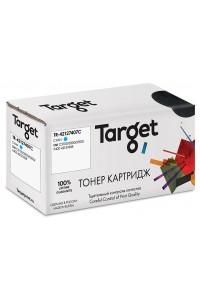 Картридж TARGET совместимый Oki 42127407 Cyan для C5100/5150/5200/5300/5400, 5k