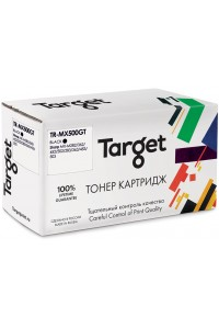 Картридж TARGET совместимый Sharp MX 500GT для MX M282/283/362/363/452/453/502/503, 40k