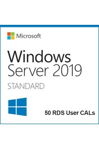 Программное обеспечение Microsoft® Win Rmt Dsktp Svcs CAL 2019 English Academic Microsoft License Pack 5 Licenses User CAL User CAL