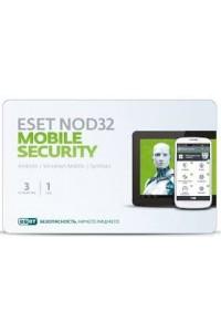 ESET NOD32 Mobile Security - карта на 3 устройства на 1 год