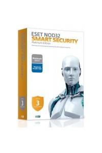 ESET NOD32 Smart Security Family Platinum Edition - лицензия на 2 года на 3 устройства