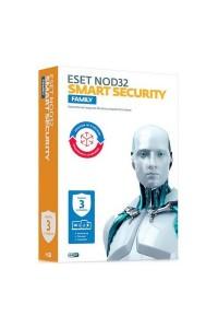 ESET NOD32 Smart Security Family - продление лицензии на 1 год на 3 устройства