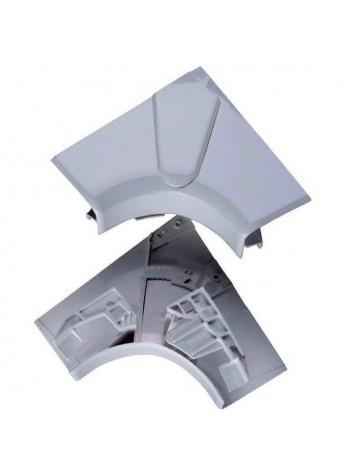 Угол внутренний переменный от 80° до 100° - для кабель-каналов DLP 65х195/220 - 3 секции