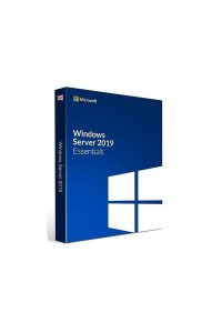 Программное обеспечение Microsoft® Windows Server Essentials 2019 64Bit English Academic 1 License DVD