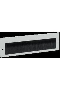ITK Щеточный кабельный ввод 390х115 мм, серый