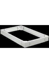 ITK Цоколь для напольных шкафов, высота 100мм, 800х1200мм, серый