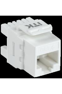 ITK Модуль Keystone Jack кат. 6 UTP 110 IDC 180 град.
