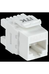 ITK Модуль Keystone Jack кат. 5E UTP 110 IDC 180 град.