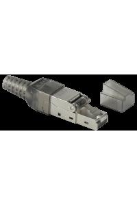 ITK Разъём RJ-45 FTP для кабеля кат.6 полевая заделка