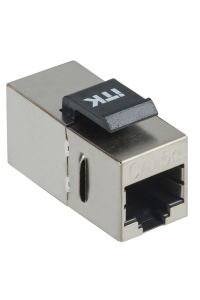 ITK Проходной адаптер кат. 5E FTP RJ45-RJ45 Keystone Jack