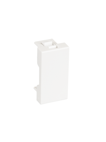 Вставка-заглушка NETLAN типа Mosaic 22,5x45мм, белая, уп-ка 10 шт. купить с доставкой в Ростове-на-Дону - Смарт