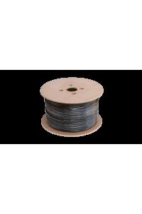 Кабель NETLAN F/UTP 10 пар, Кат.5 (Класс D), 100МГц, одножильный, BC (чистая медь), внешний, PE до -40C, черный, 305м