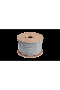 Кабель NETLAN F/UTP 10 пар, Кат.5 (Класс D), 100МГц, одножильный, BC (чистая медь), внутренний, PVC нг(B), серый, 305м