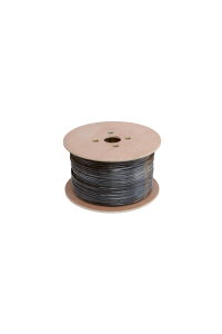 Кабель NETLAN F/UTP 25 пар, Кат.5 (Класс D), 100МГц, одножильный, BC (чистая медь), внешний, PE до -40C, черный, 305м