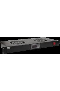 "ITK 19"" вентил. модуль 1U 4 вентилятора с цифровым термостат"
