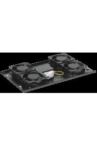 ITK Потолочная вентил. панель с термостатом, 4 вент., черная