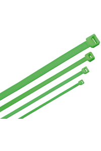 ITK Хомут-стяжка для кабеля 2,5х100мм нейлон зеленый (100шт)