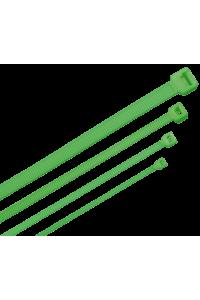 ITK Хомут-стяжка для кабеля 2,5х150мм нейлон зеленый (100шт)