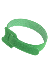 ITK Хомут-липучка для кабеля 14х135мм с м/з зеленый (100шт)