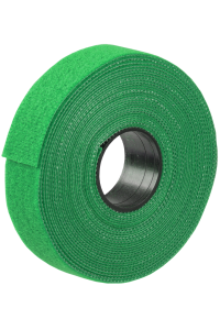 ITK Хомут-липучка для кабеля 20ммх5м зеленый (5м/рулон)