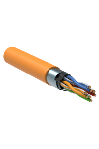 ITK Витая пара F/UTP кат.5E 4x2х24AWG LSZH оранжевый (305м)
