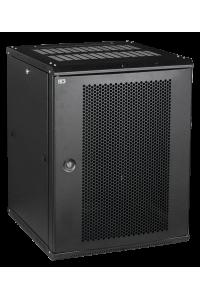 ITK Шкаф LINEA W 15U 600x600 мм дверь перфорированная, RAL9005