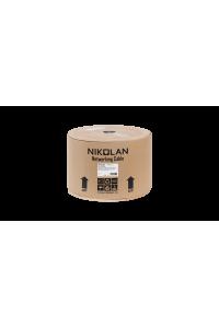 Кабель NIKOLAN F/UTP 4 пары, Кат.5e (Класс D), тест по ISO/IEC, 100МГц, одножильный, BC (чистая медь), 24AWG (0,50мм), внешний, PE до -60С, с многожильным тросом (7x0,41мм), черный, 500м - гарантия: 3 года