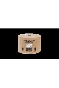 Кабель NIKOLAN F/FTP 4 пары, Кат.6 (Класс E), тест по ISO/IEC, 250МГц, одножильный, BC (чистая медь), 23AWG (0,57мм), внутренний, LSZH нг(А)-HFLTx, оранжевый, 305м - гарантия: 15 лет расширенная / 25 лет системная