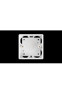 Коробка настенная NIKOMAX, под лицевые панели и розетки формата 86х86x38мм, белая