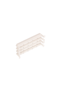 Настенный блок NIKOMAX 110 типа, 100 пар, без ног, белый