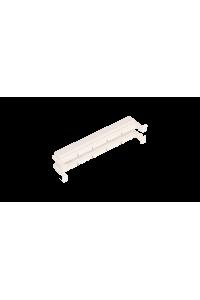 Настенный блок NIKOMAX 110 типа, 50 пар, без ног, белый