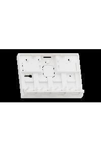 Корпус настенной розетки NIKOMAX, 4 порта, под модули-вставки типа Keystone, со шторками, белый