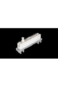 Размыкающий штекер NIKOMAX, для размыкаемых плинтов, на 1 пару, белый, уп-ка 10шт.